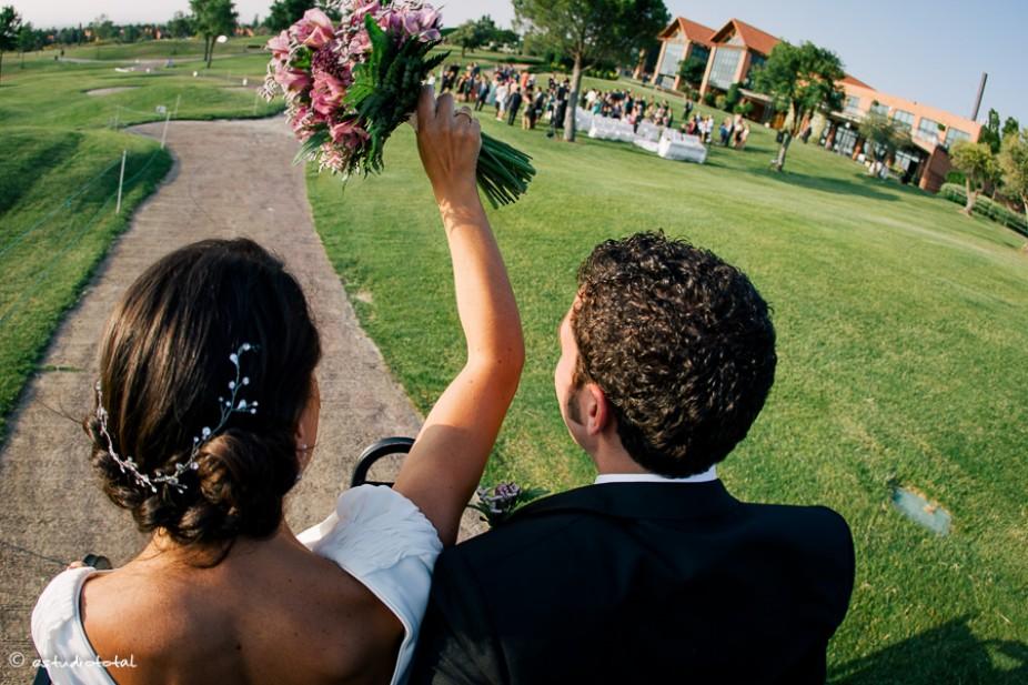 Elena y Javi, la boda