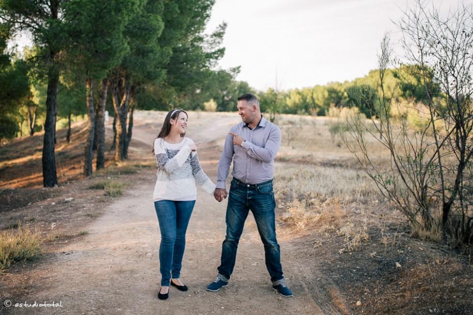 Arpad Zoard y Alicia – pre-boda