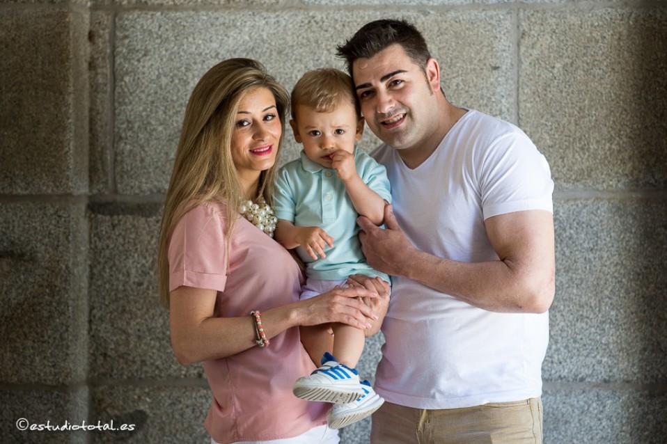 Hugo, Geanina e Ivan, las fotos de la pre-boda