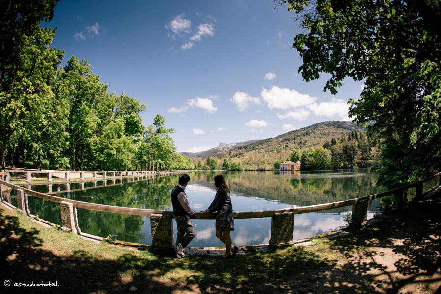 Gonzalo y Lorena, preboda en La Granja de San Ildefonso