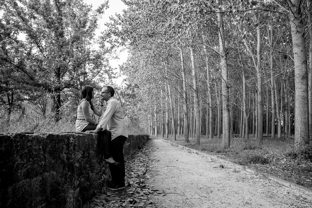 Enrique y Araceli, la pre-boda