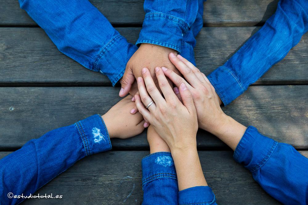 Los colchoneros :) Irene, Tamar, Marcos y David – La pre-boda