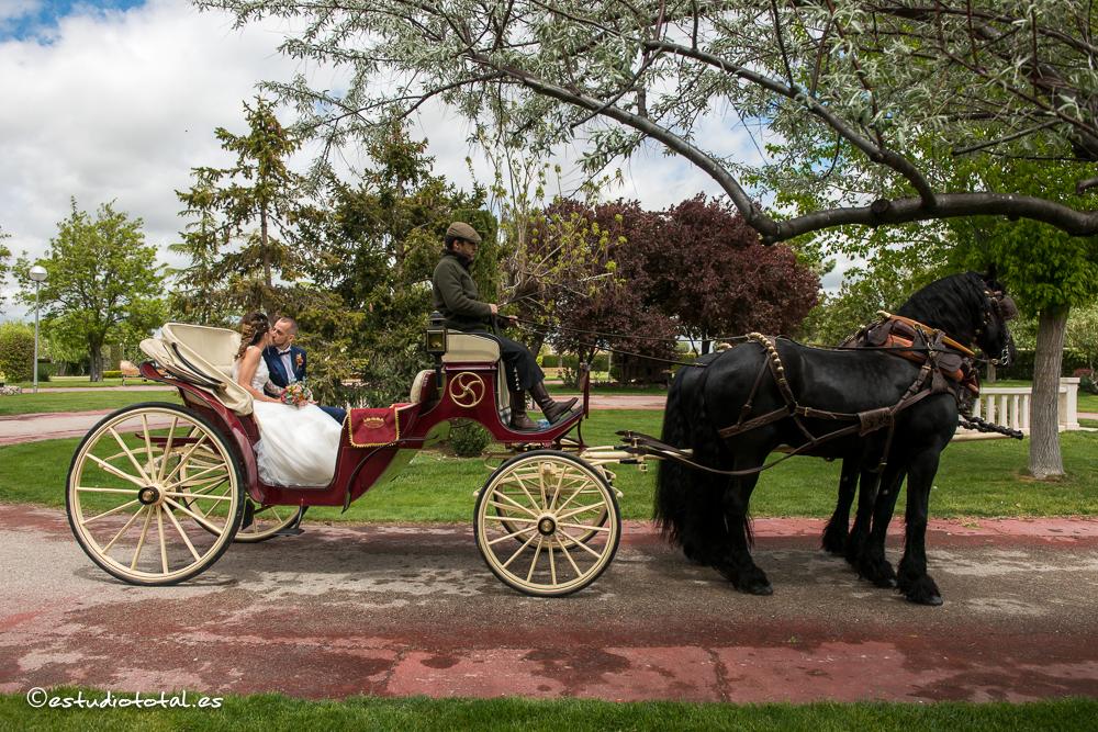 La boda de Fanny y David, el carrusel de las emociones